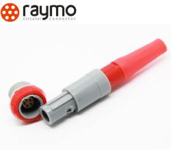 Solution de rechange Redel en plastique de la série P du connecteur 2 broches de Pag Medical