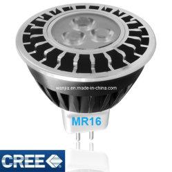 Cree LED가 있는 5W LED MR16 액센트 라이트 전구