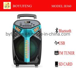 Professioneller beweglicher (Laufkatze-) Lautsprecher mit Batterie Bluetooth (B360)