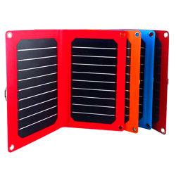 14W Sunpower solaire Téléphone mobile portable USB Batterie panneau pliable Alimentation du chargeur
