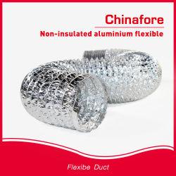 Aluminio Non-Insulated ventilada conducto flexible