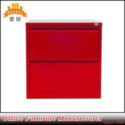 Mobilier de bureau d'acier Deux tiroirs Classeur latéral