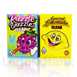 Razzle ослепляет ясно Moonrock ясно Starter Kit Vape картридж