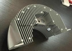 fait sur mesure Le sablage/grenaillage moulage sous pression en aluminium le dissipateur de chaleur