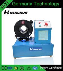 """Certificaat hf51-1 1/4 van het Octrooi van de Technologie van Ce Duitsland """" - """" Swaging van Slang 2 de Hydraulische Plooiende Machine van de Slang met de Hoogste Fabriek van het Merk Vrije de Matrijzen van 12 Reeksen"""