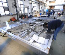 La fabrication de tôle en acier inoxydable et aluminium personnalisé du panneau électronique professionnel de soudage TIG de pièces