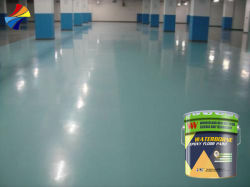 Agua de secado rápido curado epoxi Agente para acabado de pintura de piso