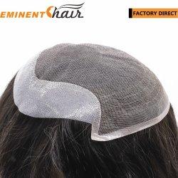 fait sur mesure de la Dentelle Toupee perruque de cheveux humains des femmes