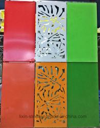 مبنى مصنع مسبقا على طراز جديد لوحة جدار إطار فولاذية قابلة للتعديل