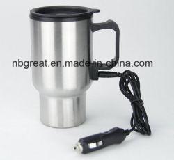 2017 de de Hete Mok van de Reis van de Verkoop Roestvrije USB Verwarmde en Kop van de Koffie