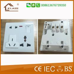 Haute qualité de la broche 1 Piste 8 Interrupteurs muraux et de la douille