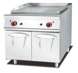 Gama comercial de gás comercial com fornecimento de forno para o hotel