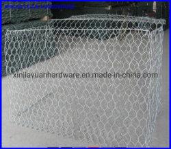 O hexagonal eletro galvanizado cerrada Gabião Mesh
