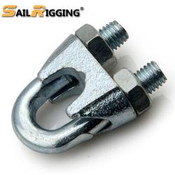 Hierro maleable galvanizado DIN DIN741 741 Cable Clip