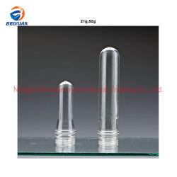 Gefäß-Embryo-beständige Gefäß-Embryo-Haustier-Saft-Hochtemperaturflasche des Haustier-21g 52g