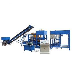 O Qt4-20 Semi Automático do Sistema Hidráulico Cor concreto de intertravamento de pavimentação de Blocos ocos máquina de moldagem para a construção