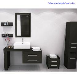 Monté sur un mur coin salle de bains petite armoire MDF