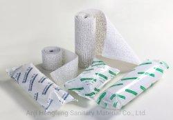 La Chine de gros de haute qualité médicale OEM de gypse (POP) de chemise de plâtre de Paris l'usine de bandage approuvé par le marquage CE et l'ISO CE FDA