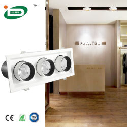 Slaapkamer kantoor verstelbaar Roteerbaar plafond verstelbare spot LED inbouwspot