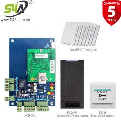 O acesso à rede do painel de controle e leitor de cartão botão Sair para kits completos para dispositivos de segurança na porta
