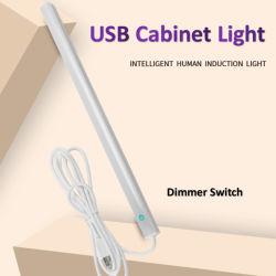 Armario regulable bajo la iluminación, temperatura de color de 3 tiras de lectura portátil USB Luz Eye-Care Craft Mesa de luz LED lámpara de lectura ideal para la tabla de artesanía, pianos,