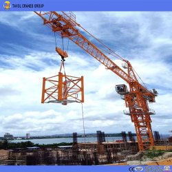 Строительство башни модель крана Qtz160 (TC6516)