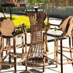 옥외 당 스테인리스 금속 현대 칵테일 바 테이블