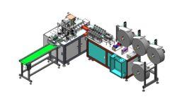 Automatisch één-belemmering- de Servo Gecontroleerde Machine van het Masker van het Vliegtuig