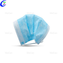 Maschera di protezione chirurgica medica sterile non tessuta a gettare 3-Ply di prezzi di fabbrica