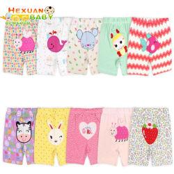 男の子の綿のショートパンツの夏薄いセクション天才パターンは偶然のズボンの子供を5本のズボンからかう