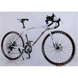 OEM Custom barata de 26 pulgadas 21 Speed Carbon Frame Compartir Picador de carretera Ciclismo Bicicleta adulto Estudiante Adulto Moto para la venta de bicicletas