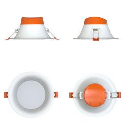 코브 6W 8W 10W 16W 24W 라운드 LED 스포트라이트 임베디드 깊은 튜브 다운라이트 LED 다운라이트