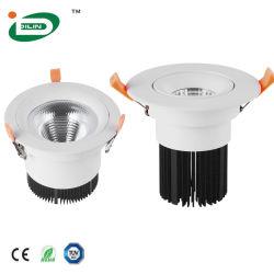 Энергосберегающий светодиодный GU10 раунда коммерческого управления Lightings Downlighting LED с современным стандартам