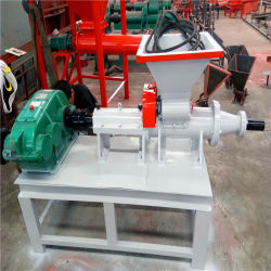 Hölzerne Sägemehl-Brikett-Presse-Holzkohle, die Maschinen-Kohle-Rod-Extruder-Maschine herstellt