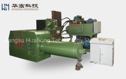 Déchets hydraulique de la ferraille manuel de presse à balles Recycling Machines Y81T-500