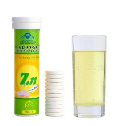 Suplemento Saúde Vitamina comprimidos de zinco Tablet efervescente