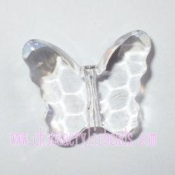 De duidelijke Geaderde Parels van de Vlinder voor Kroonluchter (AC017)