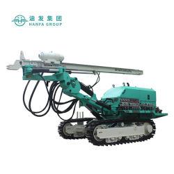 Hf140y Sol hydraulique sur chenilles machine de forage de trou d'ancrage pour le forage
