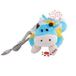 Het Stuk speelgoed van de Hartversterkingen van de Pluche van de koe USB