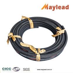 DIN 853 Standard Stahldraht Geflecht Gummirohr mit 2st Hydraulikschlauch