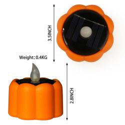 Le scintillement des bougies étanche Flameless solaire alimenté et fonctionne sur batterie Tea Light LED pour l'Halloween Festival de la barre de triage de jardin