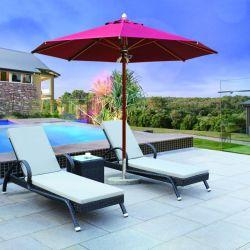 Plegable resistente al sol en el exterior jardín chino Sombrilla Parasol