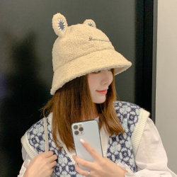 Nuevo estilo Vintage la moda de la cuchara de lana Cat-Ear Hat