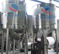 Aço inoxidável Cone oblíquo topo aberto Fermentator Vinho