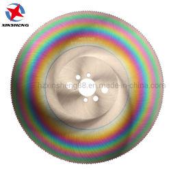 HSS M42 Dmo5 Hoja de sierra circular Sierra Fría Hoja de sierra corte de metales de corte de la barra de tubo de acero inoxidable