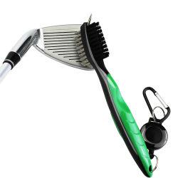 El Club de Golf de doble cara Cepillo de limpieza con acero inoxidable