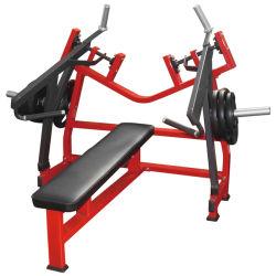 適性装置の水平のベンチプレスの商業体操の練習の機械か強さ