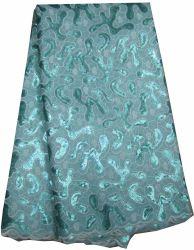 La mujer nuevo diseño de la tela de encaje de Organza Cl8201-2