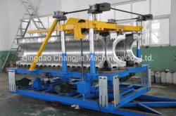 HDPE-Belüftung-doppel-wandiges gewölbtes Plastikrohr/Kabel-/Gefäß-Herstellung/Herstellung-/Produktions-Maschinerie