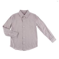Seidig glattes Bamboo Woven Fabric Shirt für Jungen